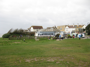 The Beachcomber cafe at Barton on Sea