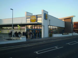 Lidl supermarket New Milton